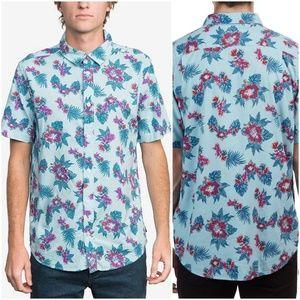 RVCA   Mens McMillan Floral Woven Button Shirt